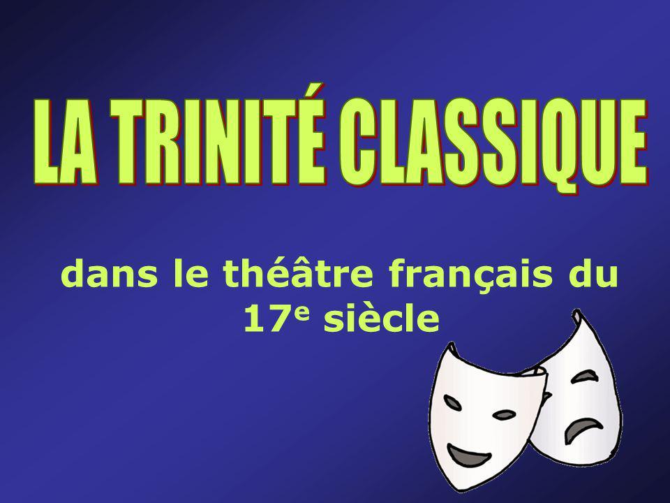 dans le théâtre français du 17e siècle