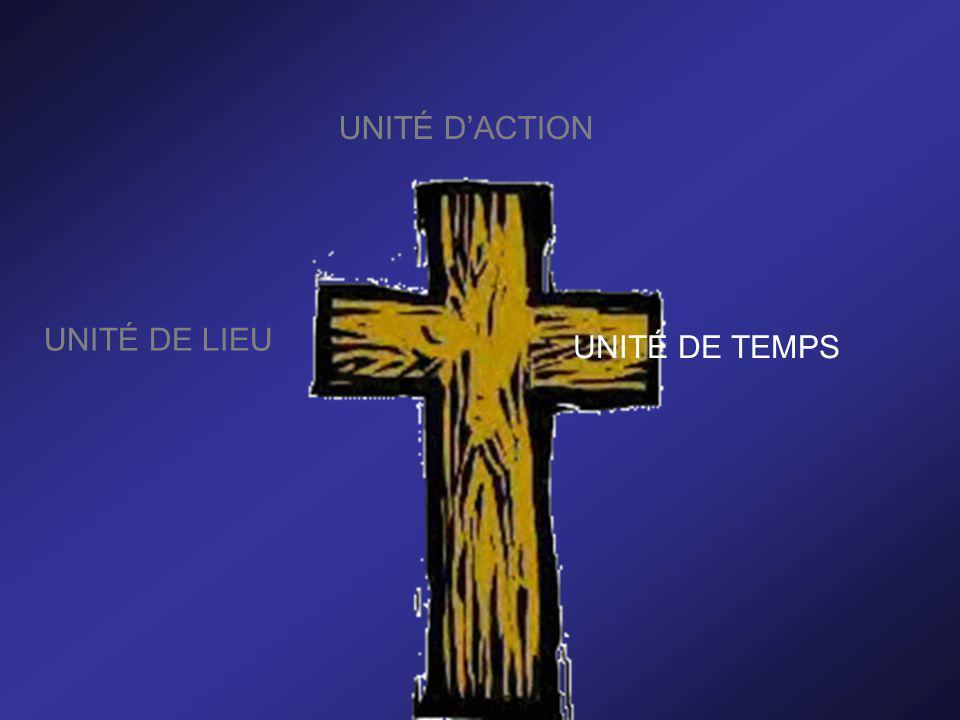 UNITÉ D'ACTION UNITÉ DE LIEU UNITÉ DE TEMPS