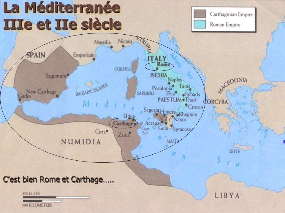 C'est bien Rome et Carthage…..