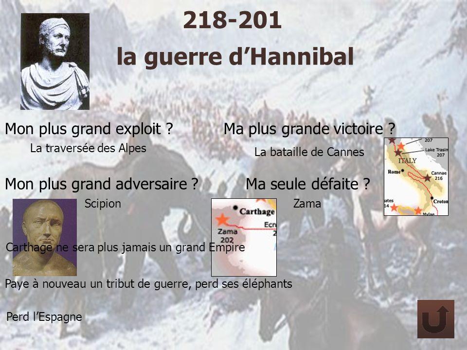218-201 la guerre d'Hannibal Mon plus grand exploit