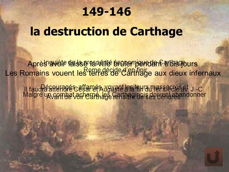 la destruction de Carthage