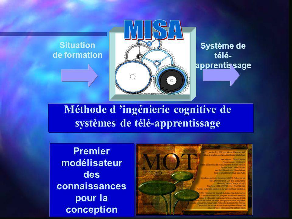 MISA Méthode d 'ingénierie cognitive de systèmes de télé-apprentissage