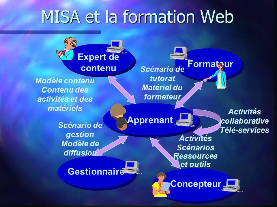 MISA et la formation Web