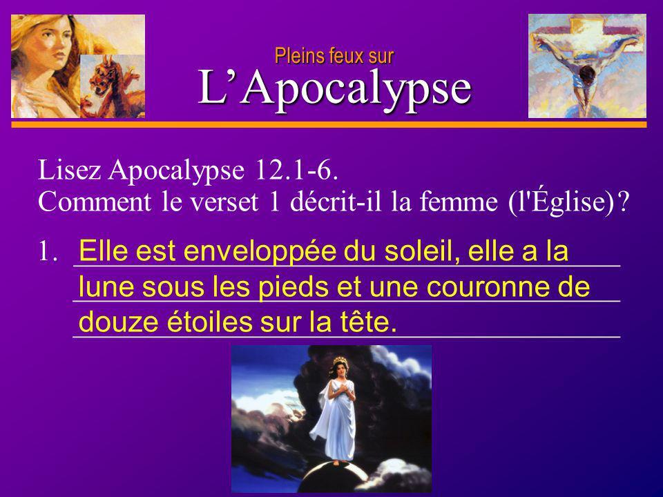 L'Apocalypse Lisez Apocalypse 12.1-6.
