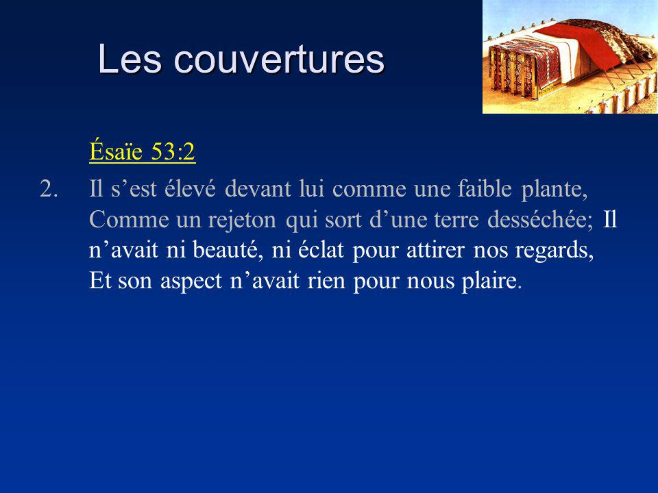 Les couvertures Ésaïe 53:2