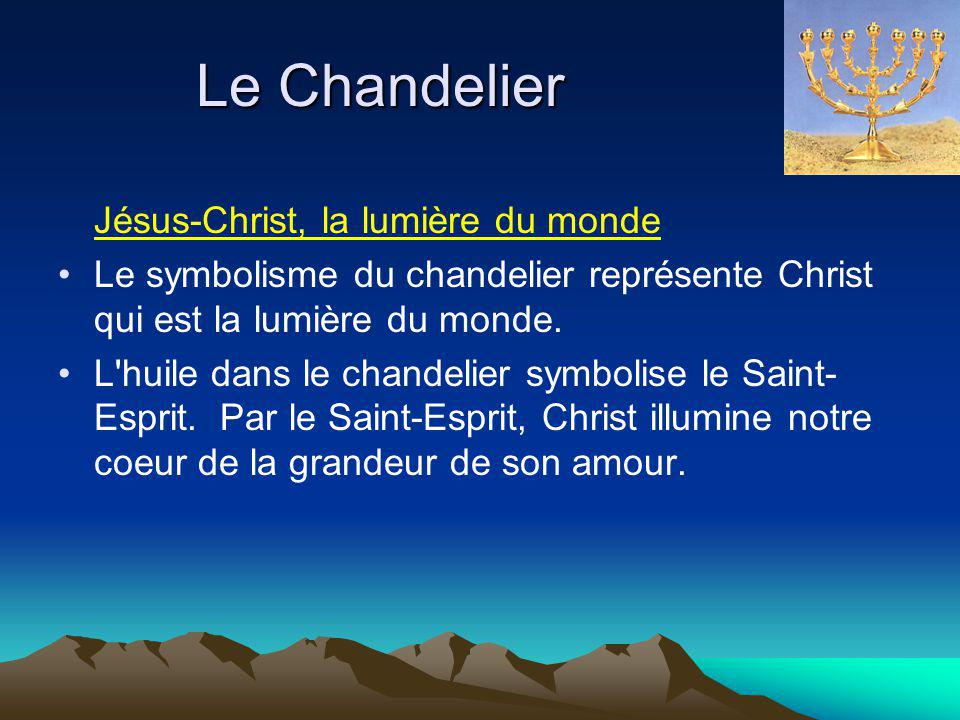 Le Chandelier Jésus-Christ, la lumière du monde