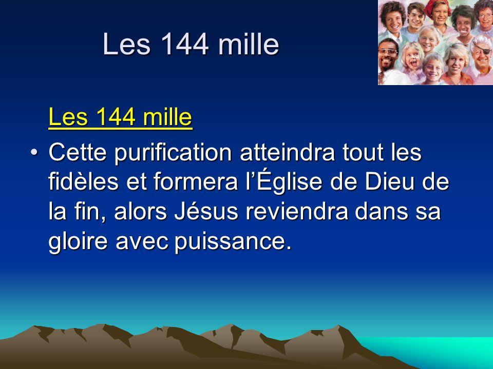 Les 144 mille Les 144 mille.