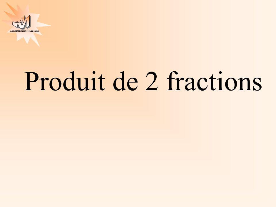 Produit de 2 fractions
