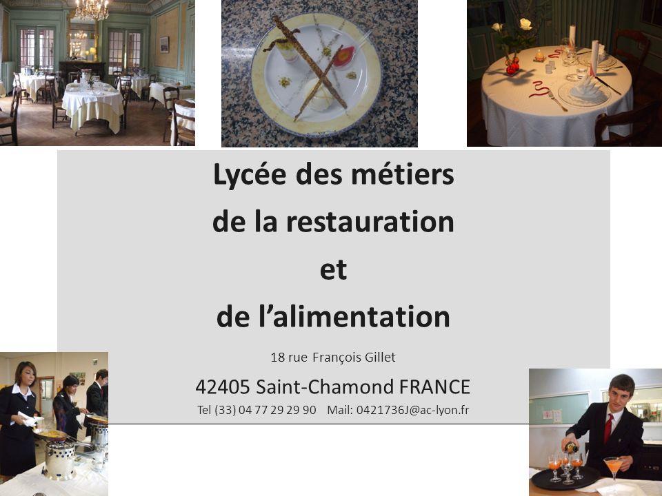 Tel (33) 04 77 29 29 90 Mail: 0421736J@ac-lyon.fr