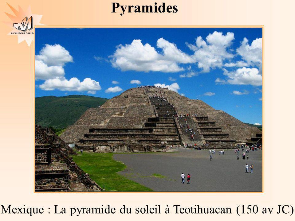Pyramides Mexique : La pyramide du soleil à Teotihuacan (150 av JC)