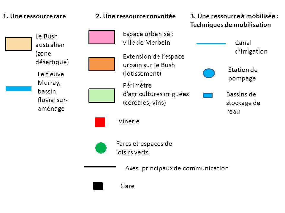 1. Une ressource rare 2. Une ressource convoitée. 3. Une ressource à mobilisée : Techniques de mobilisation.