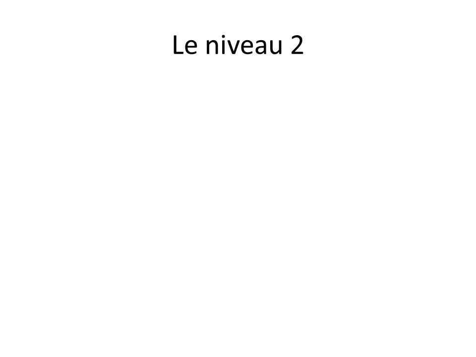 Le niveau 2