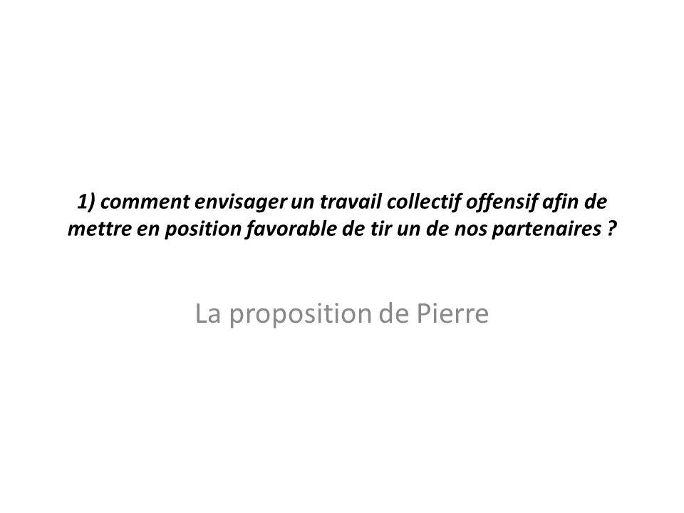 La proposition de Pierre
