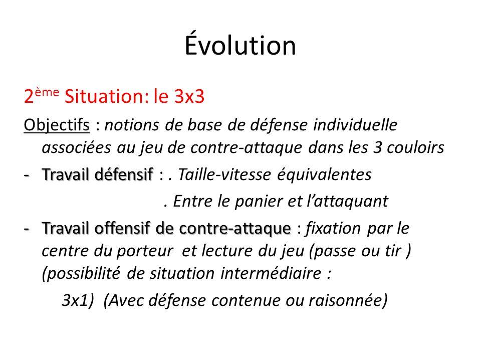 Évolution 2ème Situation: le 3x3