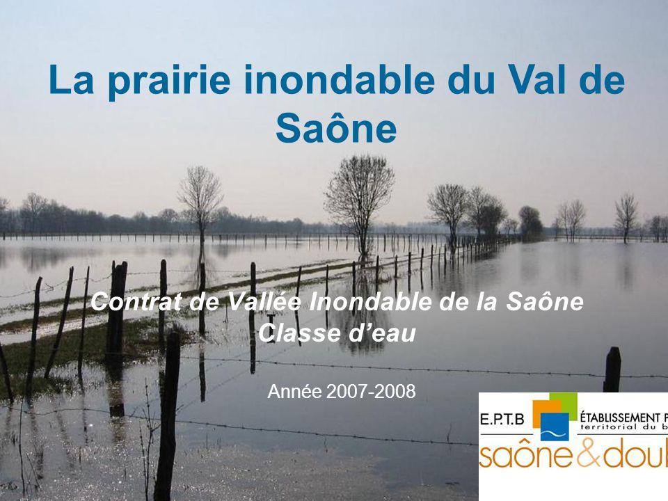 Contrat de Vallée Inondable de la Saône Classe d'eau