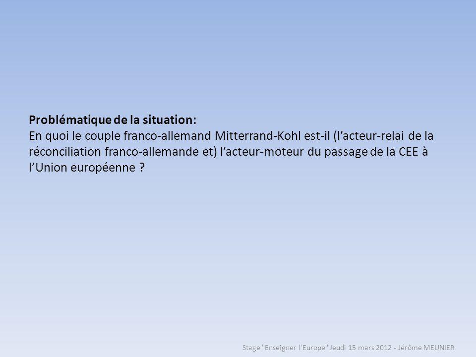 Stage Enseigner l Europe Jeudi 15 mars 2012 - Jérôme MEUNIER