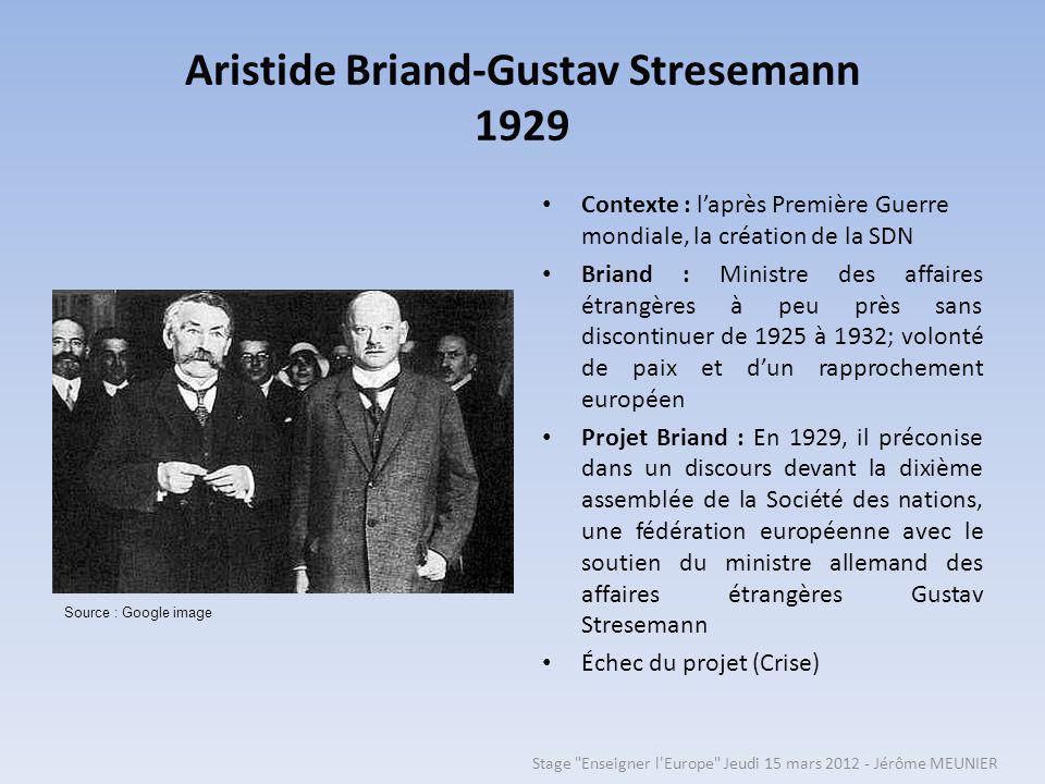 Aristide Briand-Gustav Stresemann 1929
