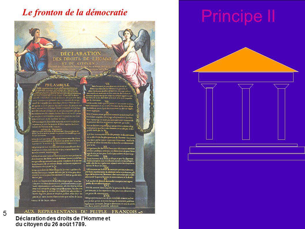 Principe II Le fronton de la démocratie 5