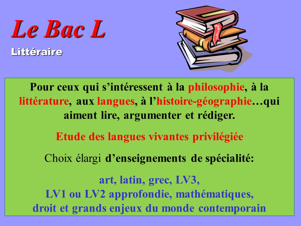 Etude des langues vivantes privilégiée