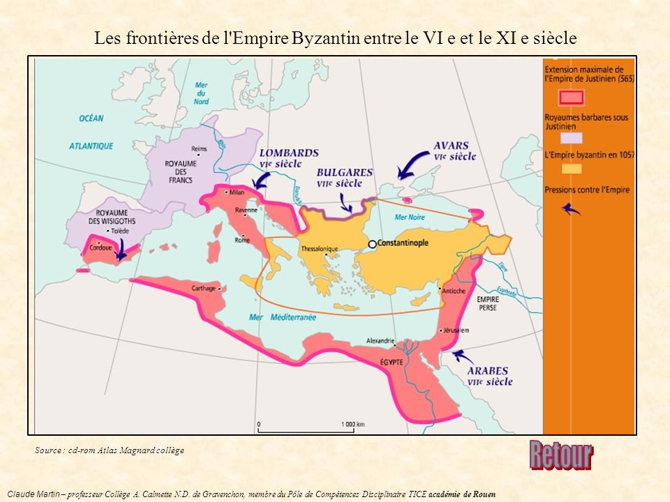 frontière empire romain