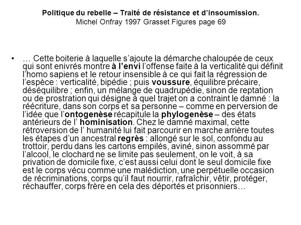 Politique du rebelle – Traité de résistance et d'insoumission