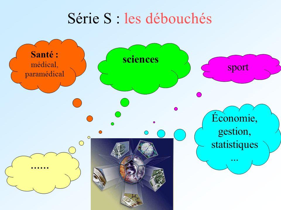 Série S : les débouchés sciences sport
