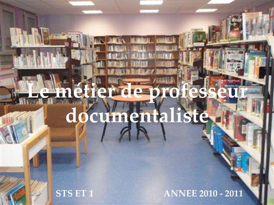 Le métier de professeur documentaliste