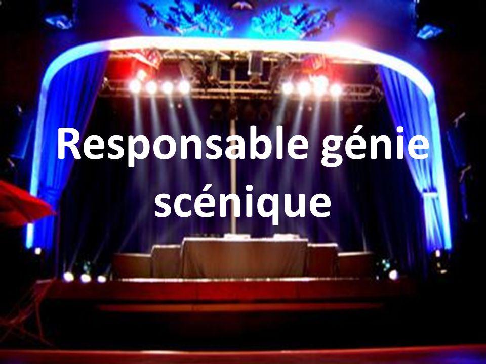 Responsable génie scénique