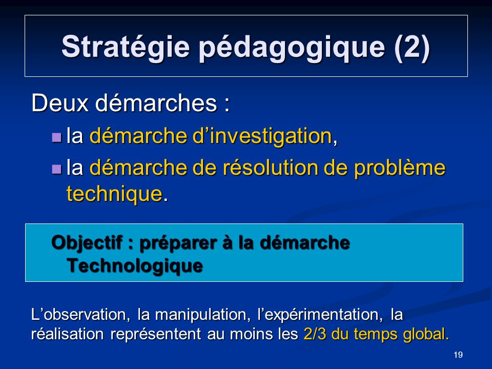 Stratégie pédagogique (2)