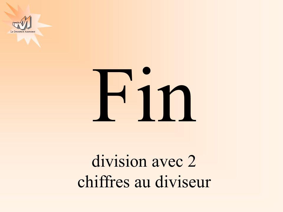 division avec 2 chiffres au diviseur