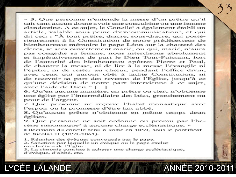 33 LYCÉE LALANDE ANNÉE 2010-2011 5