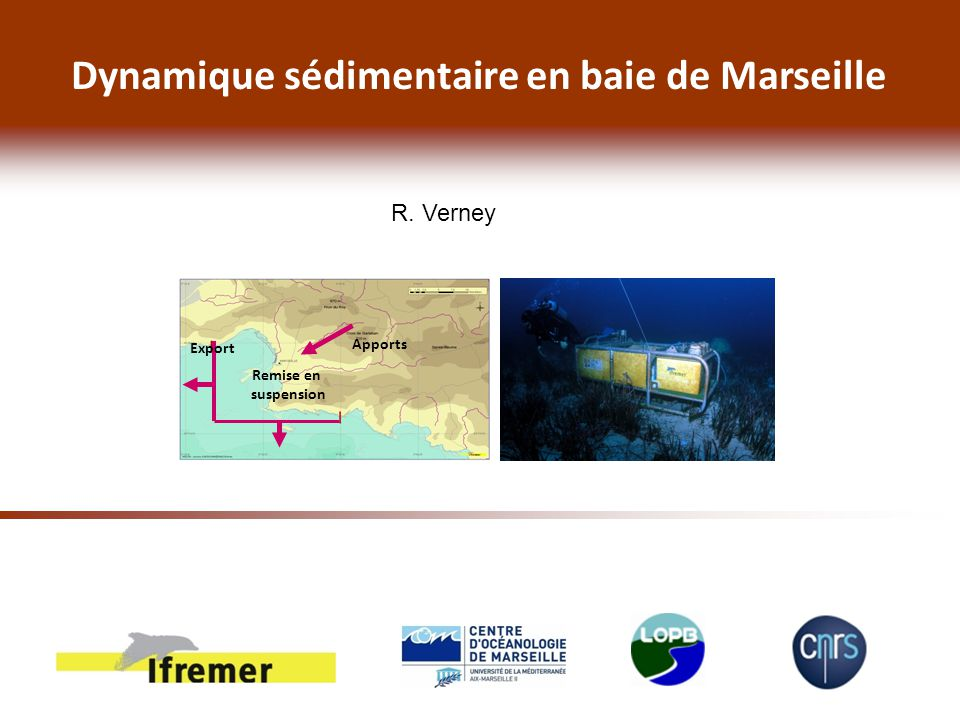 Dynamique sédimentaire en baie de Marseille