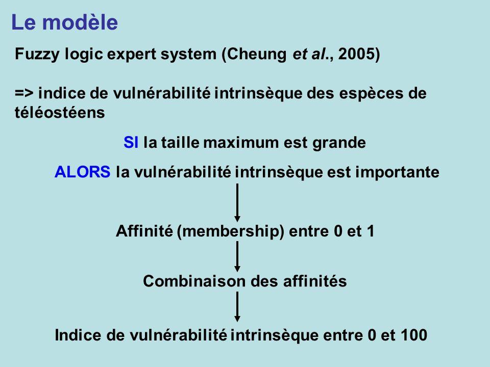 Le modèle Fuzzy logic expert system (Cheung et al., 2005)