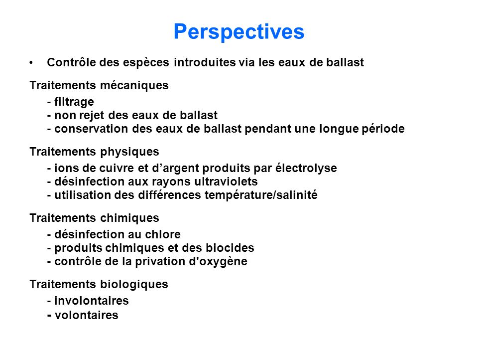 Perspectives - volontaires