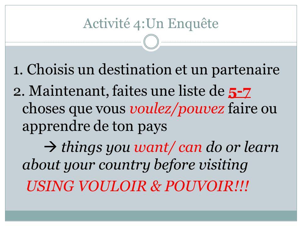 USING VOULOIR & POUVOIR!!!