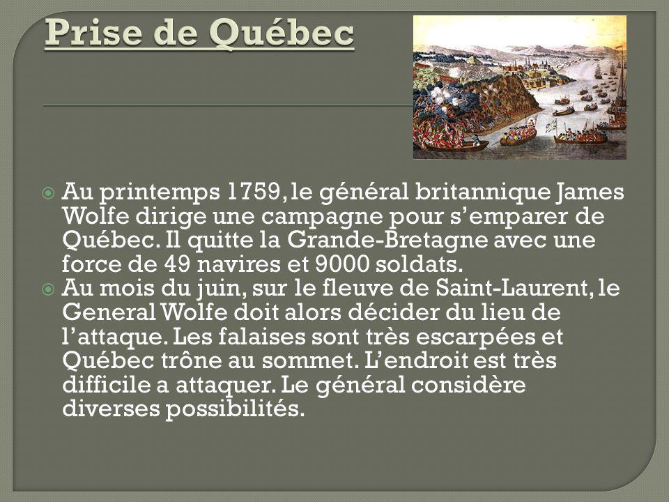 Prise de Québec