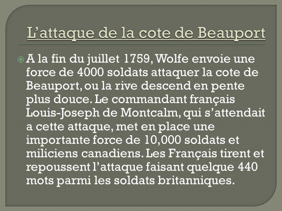 L'attaque de la cote de Beauport