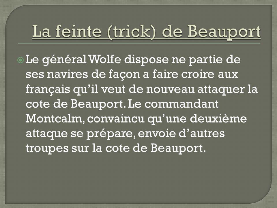 La feinte (trick) de Beauport