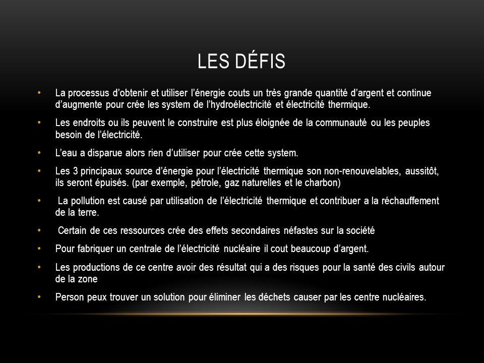 Les DÉFIS