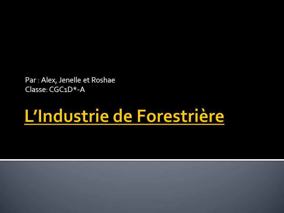 L'Industrie de Forestrière