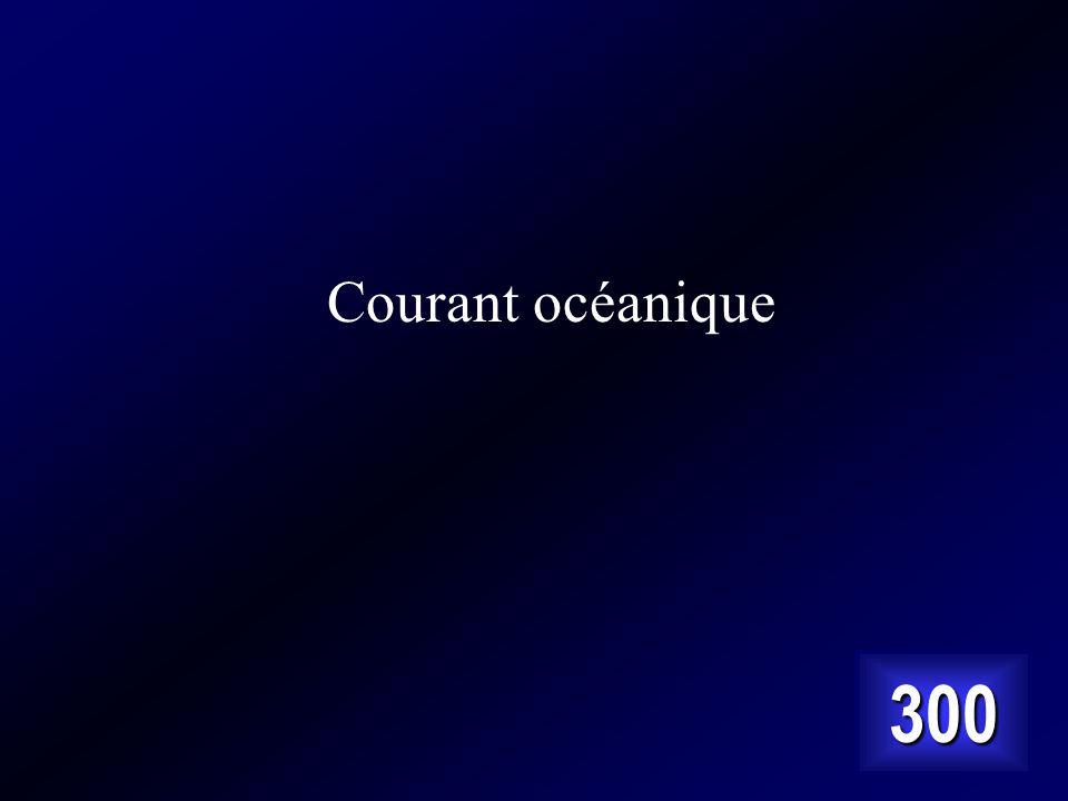 Courant océanique 300