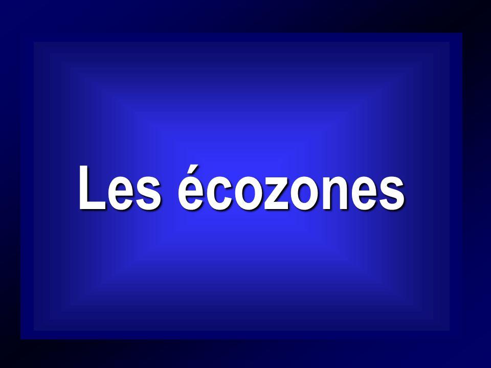 Les écozones