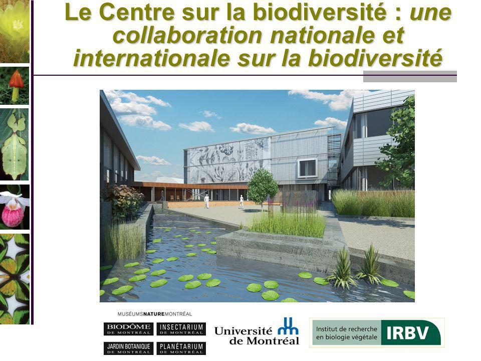 Le Centre sur la biodiversité : une collaboration nationale et internationale sur la biodiversité