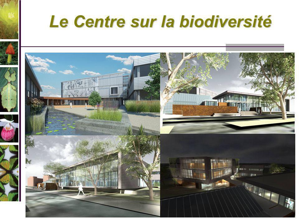 Le Centre sur la biodiversité