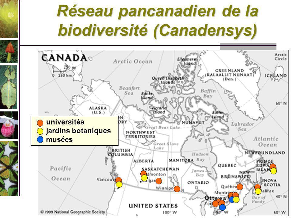Réseau pancanadien de la biodiversité (Canadensys)