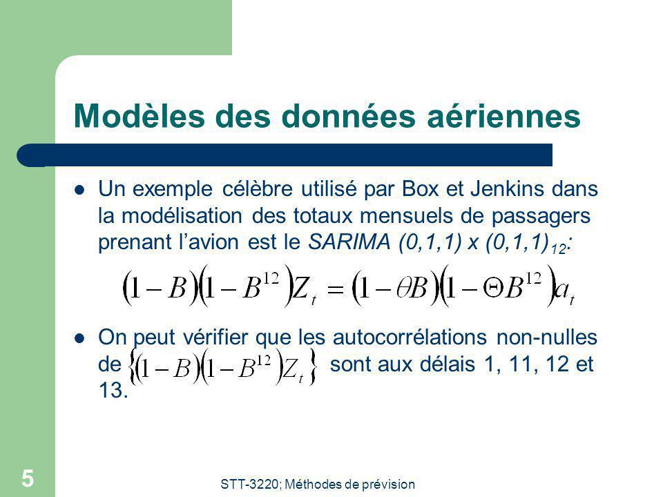 Modèles des données aériennes