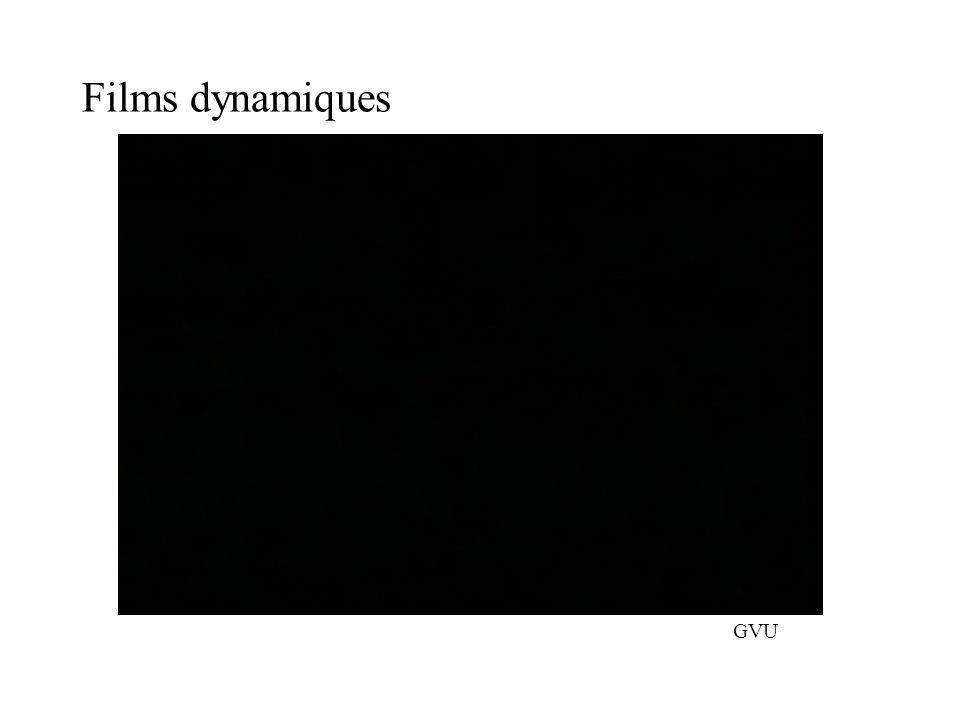 Films dynamiques GVU