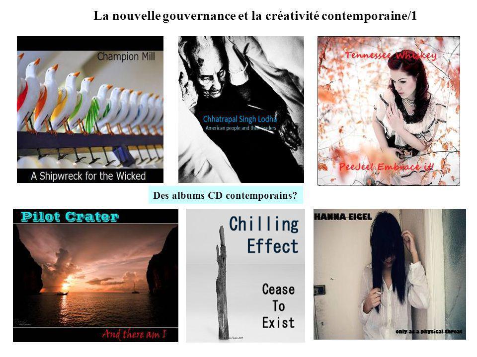 La nouvelle gouvernance et la créativité contemporaine/1