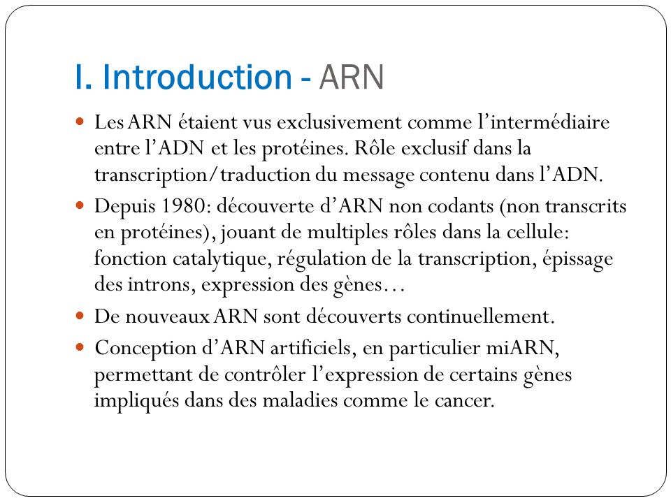 I. Introduction - ARN