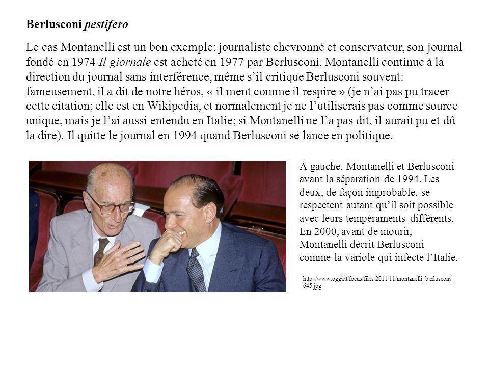 Berlusconi pestifero